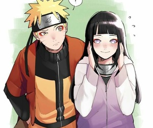 naruhina, anime, and naruto image