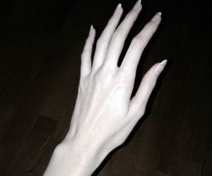 hand, pale, and hands image