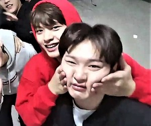 minhyuk, hyunsik, and sungjae image