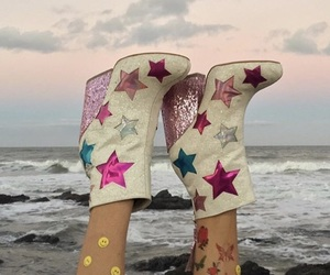 aesthetic, shoes, and stars image