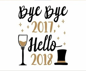 2018, love, and bye bye image
