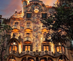 travel, Barcelona, and nature image