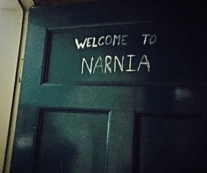 narnia, grunge, and door image