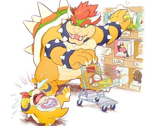 Bowser, mario bros, and king koopa image