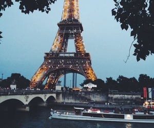eiffel tower, france, and life image