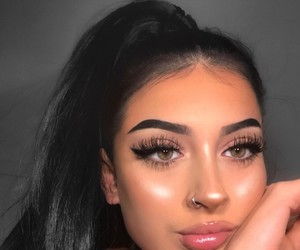 makeup, girl, and goals image