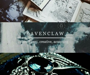 aesthetic, blue, and diadem image