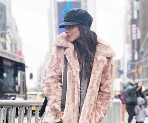 beauty, cozy, and fur coat image