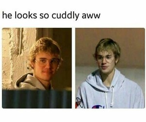 cuddly, you smile i smile, and cute image