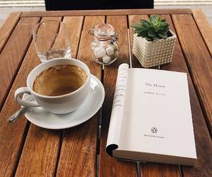 aesthetic, books, and cafe image