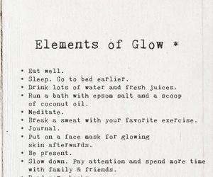 advice, beauty, and glow image