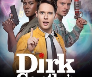 funny, tv show, and dirk gently image