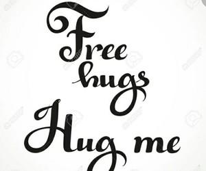 free hugs, hug, and ❤ image