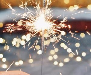 light, fireworks, and wallpaper image