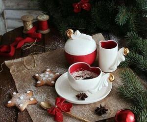 christmas, coffee, and holidays image