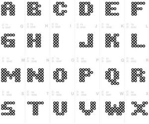 alphabet, font, and numbers and letters image
