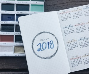 calendar, diary, and happy image