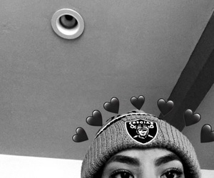 beanie, football, and hearty image