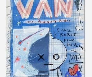 bt21, bts, and van image