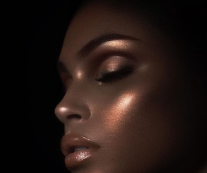 highlight, makeup, and beauty image