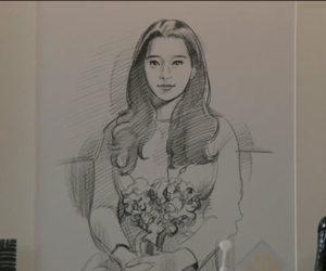 romance, han ji min, and hyun bin image