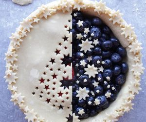 berries, cake, and pie image