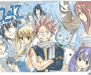 happy, lucy heartfilia, and gray fullbuster image