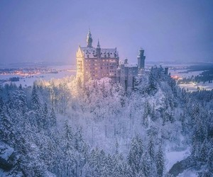 castle, fairy tale, and germany image