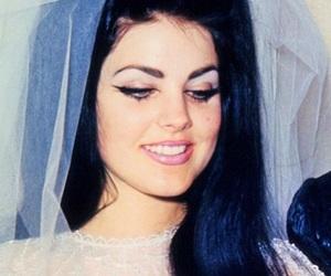 60s, priscilla presley, and bride image