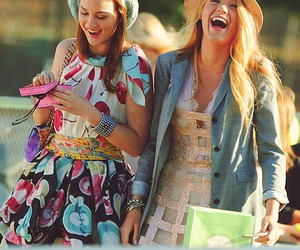 leighton meester and blake lively image