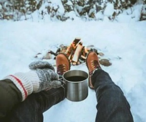 camp, camping, and coffee image