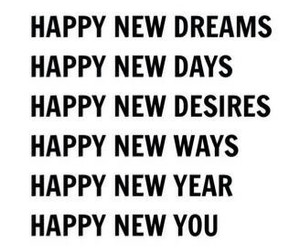 new year, 2018, and new dreams image
