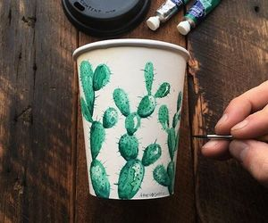 art, mug, and arty image