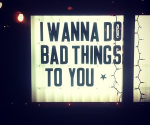 bad and things image