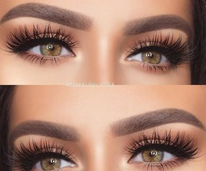 beauty, eyes, and lashes image