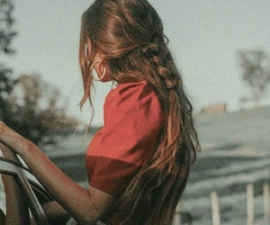 girl, hair, and vintage image