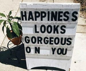 gorgeous, happiness, and words image