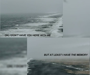 memory, sea, and withme image