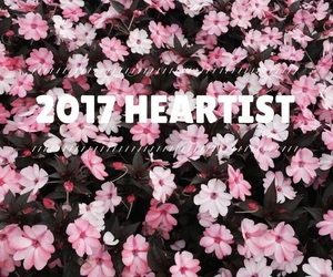 flowers, pink, and 2017 image