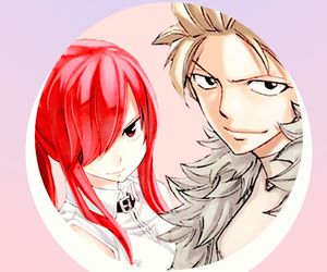 fairy tail, erza scarlet, and my otp image