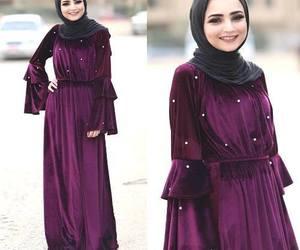 velvet with hijab image
