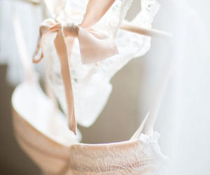 lingerie, fashion, and lace image