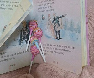 book, doll, and girly image