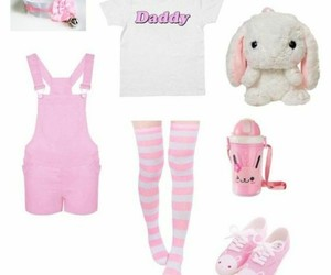 outfits, ddlg, and babygirl image