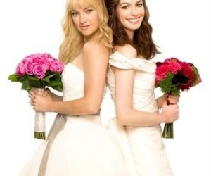 Anne Hathaway, funny, and Bride Wars image