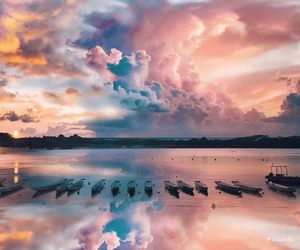 photography, beautiful, and clouds image