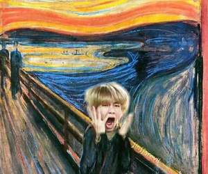 art, scream, and edvard munch image