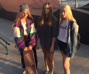 girl, skate, and aesthetic image