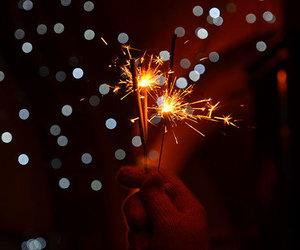 celebration, holiday, and new year image