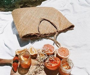 food, summer, and aesthetic image
